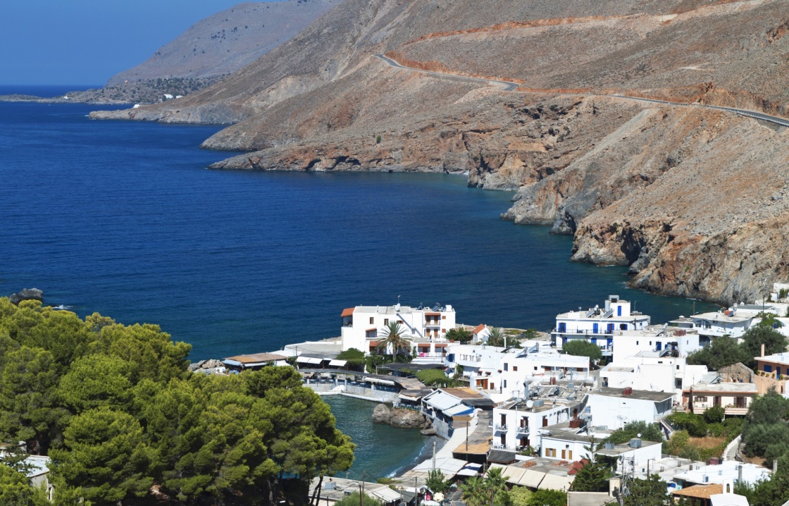 'Sfakia fishing village at Crete island in Greece' - Chania