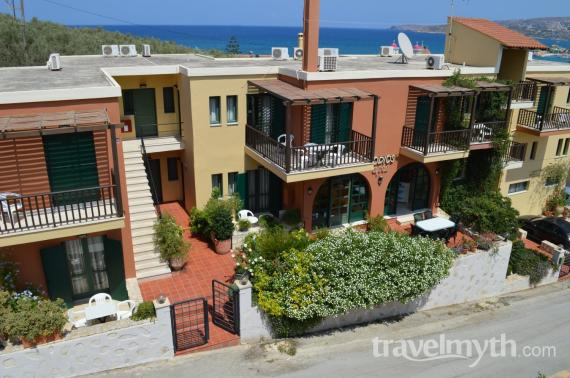 Erodios Apartments - Kalives, Chania, Crete